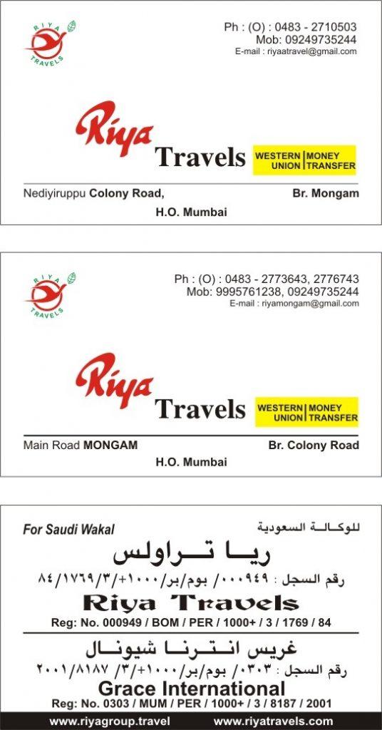 Riya Travels Air Tickets
